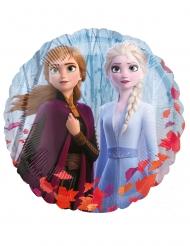Globo aluminio redondo Elsa Frozen 2™ 43 cm