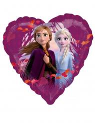 Globo aluminio corazón Frozen 2™ 43 cm