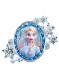 Globo de aluminio recto verso Elsa y Anna Frozen 2™ 76 x 66 cm