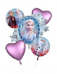 Bouquet 5 globos aluminio Frozen 2™