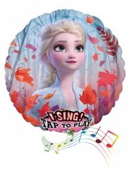 Globo aluminio musical Frozen 2™ 71 cm