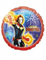 Globo aluminio Capitán Marvel™ 43 cm