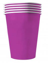 20 Vasos americanos cartón reciclable morados 53 cl