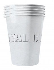 20 Vasos americanos cartón reciclable blanco 53 cl