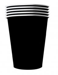 20 Vasos americanos cartón reciclable nego 53 cl