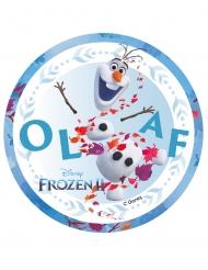 Disco oblea ácimo Frozen 2™ olaf 14,5 cm