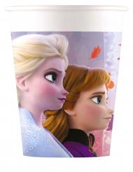 8 Vasos de cartón Frozen 2™ 200 ml
