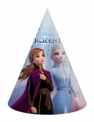 6 Gorros de fiesta cartón Frozen 2™