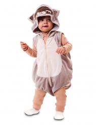 Disfraz mapache para bebé