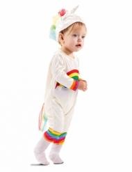 Disfraz mono unicornio bebé