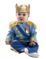 Disfraz pequeño príncipe azul bebé