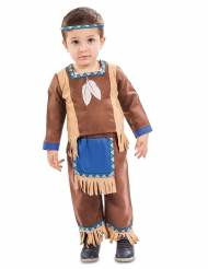Disfraz pequeño indio bebé