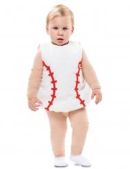 Disfraz pelota de béisbol bebé