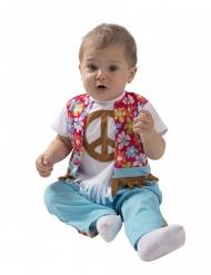 Disfraz pequeño hippie bebé