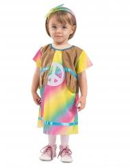 Disfraz vestido hippie bebé
