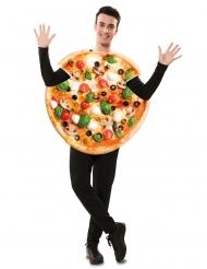 Disfraz de pizza para adulto