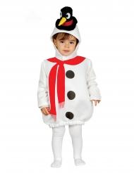 Disfraz de muñeco de nieve gorro de pingüino bebé