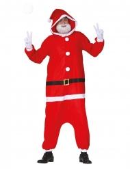 Disfraz Papá Noel moderno adulto