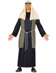 Disfraz de pastor azul hombre