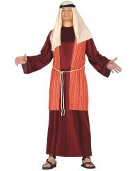 Disfraz pastor rojo hombre