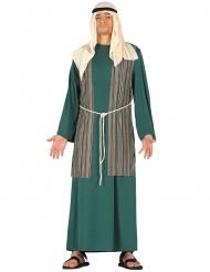 Disfraz de pastor verde hombre