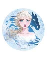 Disco oblea Frozen 2™ Elsa 20 cm