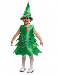 Disfraz árbol de Navidad niño