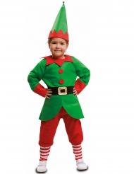 Disfraz duende de Navidad niño