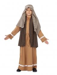 Disfraz San José marrón niño