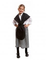 Disfraz de castañera niña