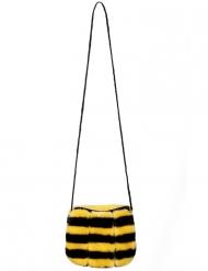 Bolso con cremallera abeja adulto