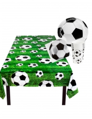 Kit vajilla desechable fútbol 25 piezas