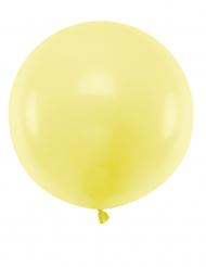 Globo de látex gigante amarillo 60 cm