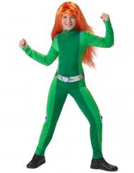 Disfraz de espía verde niña