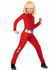 Disfraz de espía rojo niña