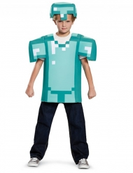Disfraz armadura Minecraft™ niño