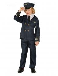 Disfraz piloto de ación niño