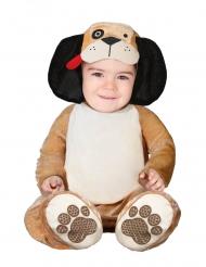 Disfraz de perro marrón bebé