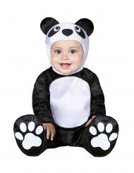 Disfraz pequeño panda para bebé