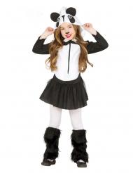 Disfraz panda tutú niña