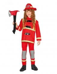 Disfraz bombero rojo niño