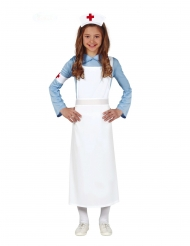 Disfraz enfermera retro niña