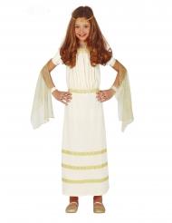 Disfraz romana blanca niña