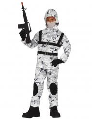 Disfraz de soldado del antártico
