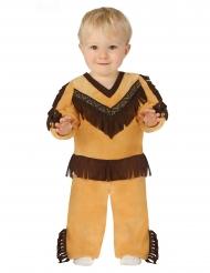 Disfraz indio bebé
