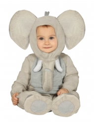 Disfraz elefante peluche bebé