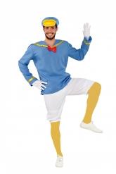 Disfraz de pato marinero hombre