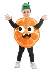 Disfraz de naranja niño