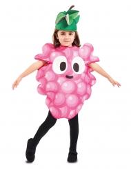 Disfraz de racimo de uva niño