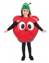Disfraz manzana roja niño